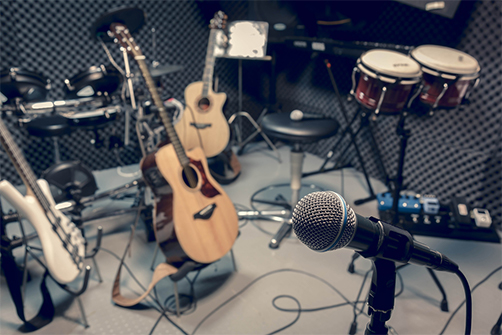 音楽スクールが運営する、娯楽スペース!