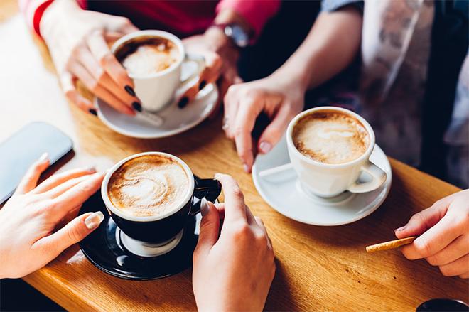 コーヒー・お茶などフリードリンク!